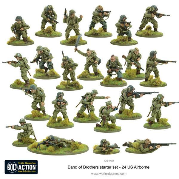 Warlord Games Bolt Action  Bolt Action Essentials Band of Brothers - 2 Player Starter - 401510001 - 5060393704454