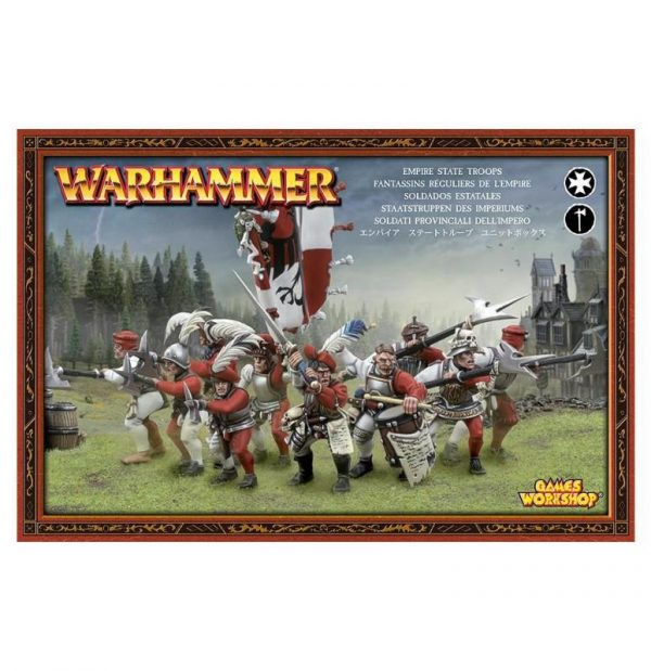 Games Workshop (Direct) Age of Sigmar  Age of Sigmar Direct Orders Freeguild Guard - 99120202013 - 5011921907328
