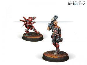 Corvus Belli Infinity  Nomads Carlota Kowalsky & Moriarty - 280545-0285 - 2805450002851
