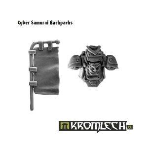 Kromlech   Legionary Conversion Parts Cyber Samurai Backpacks (5) - KRCB028 - 5902216110267