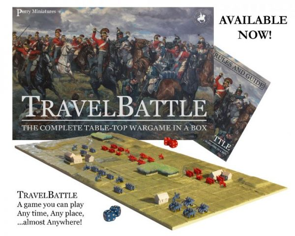 Perry Miniatures   Perry Miniatures Travel Battle: The Complete Table-Top Wargame in a Box - BB2 - 797776591039