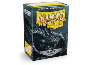 Dragon Shield   Dragon Shield Dragon Shield Sleeves Matte Slate (100) - DS100MSL - 5706569110277