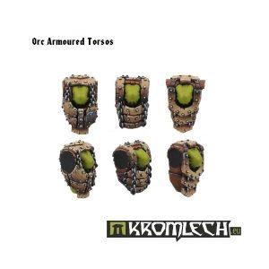 Kromlech   Orc Conversion Parts Orc Armoured Torsos (6) - KRCB034 - 5902216110328