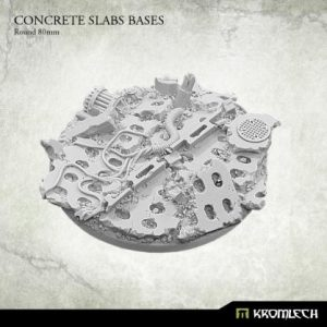Kromlech   Concrete Slabs Bases Concrete Slabs Round 80mm (1) - KRRB019 - 5902216116153