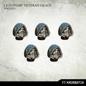 Kromlech   Legionary Conversion Parts Legionary Veteran Heads: Hooded (5) - KRCB206 - 5902216116078