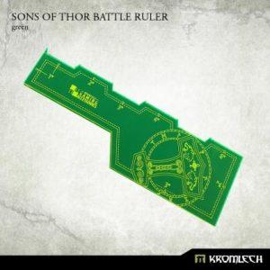Kromlech   Tapes & Measuring Sticks Sons of Thor Battle Ruler [green] (1) - KRGA028 - 5902216114227