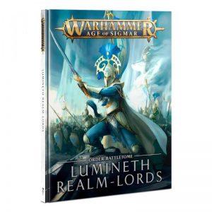 Games Workshop Age of Sigmar  Lumineth Realm-lords Battletome: Lumineth Realm-lords - 60030210010 - 9781839062940