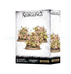 Games Workshop Warhammer 40,000 | Age of Sigmar  Maggotkin of Nurgle Daemons of Nurgle Nurglings - 99129915037 - 5011921085552