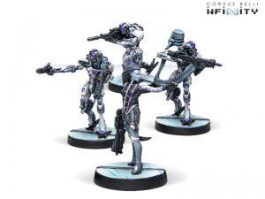 Corvus Belli Infinity  The Aleph Dakini Tacbots Box Set - 280862-0751 - 2808620007519