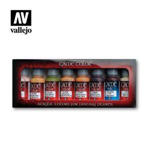 Vallejo   Paint Sets Vallejo Game Color - Skin Set - VAL72295 - 8429551722957