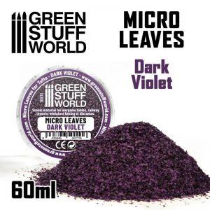 Green Stuff World   Lichen & Foliage Micro Leaves - Dark Violet Mix - 8435646501116ES - 8435646501116