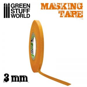 Green Stuff World   Airbrushes & Accessories Masking Tape - 3mm - 8436574505023ES - 8436574505023