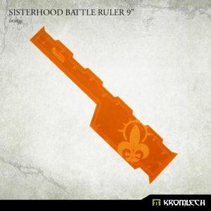 Kromlech   Tapes & Measuring Sticks Sisterhood Battle Ruler 9in [orange] - KRGA079 - 5902216119628
