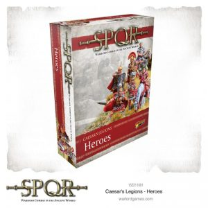 Warlord Games SPQR  SPQR SPQR: Caesar's Legions Heroes - 152211001 - 5060572504455