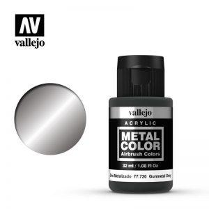 Vallejo   Metal Colour Metal Color - Gunmetal Grey 32ml - VAL77720 - 8429551777209