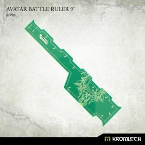 Kromlech   Tapes & Measuring Sticks Avatar Battle Ruler 9in [green] (1) - KRGA056 - 5902216117266