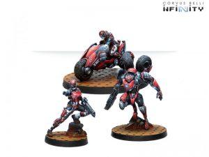 Corvus Belli Infinity  Nomads Fast Offensive Unit Zondnautica - 281502-0781 - 2815020007810