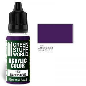 Green Stuff World   Acrylic Paints Acrylic Color LICHE PURPLE - 8436574501490ES - 8436574501490