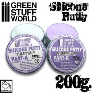 Green Stuff World   Mold Making Violet Silicone Putty 200gr - 8436554367832ES - 8436554367832