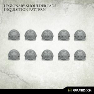 Kromlech   Legionary Conversion Parts Legionary Shoulder Pads: Inquisition Pattern (10) - KRCB231 - 5902216118423