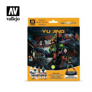 Vallejo   Model Colour AV Vallejo Model Color Set - Infinity Yu Jing Exclusive - VAL70235 - 8429551702355