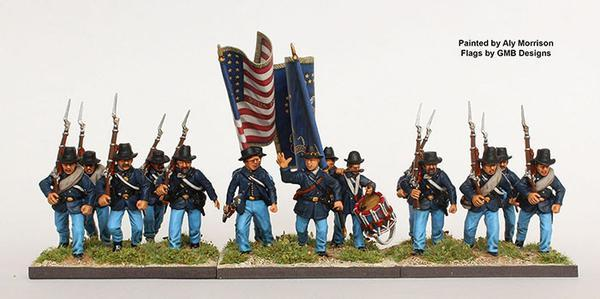 Perry Miniatures   Perry Miniatures American Civil War Union Infantry 1861-65 - ACW115 - ACW115