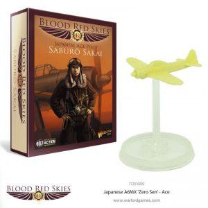 Warlord Games Blood Red Skies  Blood Red Skies Blood Red Skies: Japanese A6MX 'Zero Sen' (Ace 1) Saburo Sakai - 772016002 - 5060393707080