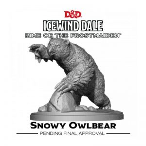 Gale Force Nine Dungeons & Dragons  D&D Miniatures D&D: Icewind Dale: Rime of the Frostmaiden - Snowy Owlbear - GFN71122 - 9420020250956