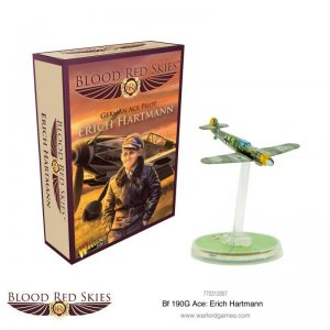 Warlord Games Blood Red Skies  Blood Red Skies Blood Red Skies: Messerschmitt Bf 109G Ace Erich Hartmann - 772212007 -
