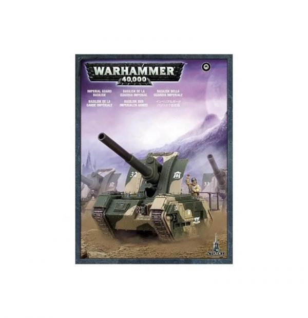 Games Workshop (Direct) Warhammer 40,000  Astra Militarum Astra Militarium Basilisk - 99120105047 - 5011921018239