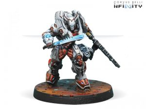 Corvus Belli Infinity  Nomads Taskmasters, Bakunin SWAST Team (HMG) - 280582-0611 - 2805820006113