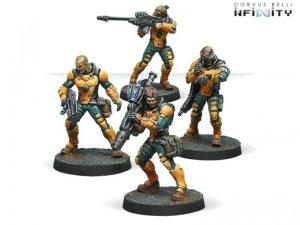 Corvus Belli Infinity  Yu Jing Yu Jing Zhanshi (Troops of the Banner) - 280387-0609 - 2803870006091