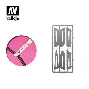 Vallejo   Vallejo Tools AV Vallejo Tools - Precision Saw Set 0.24mm - VALT06008 - 8429551930369