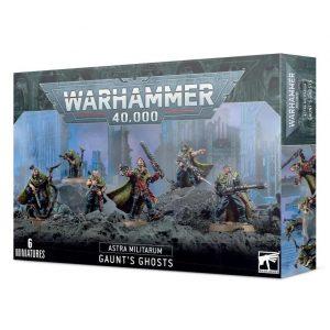 Games Workshop (Direct) Warhammer 40,000  Astra Militarum Astra Miliatarum Gaunt's Ghosts - 99120105087 - 5011921139903