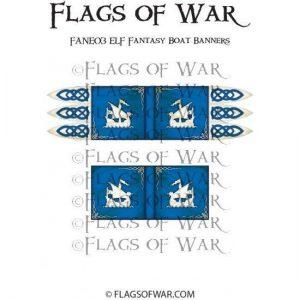 North Star Oathmark  Oathmark ELF Fantasy Boat Banners - FANE03 -