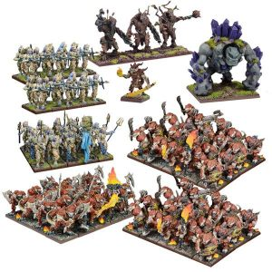 Mantic Kings of War  Forces of Nature Forces of Nature Mega Army - MGKWN111 - 5060469661469