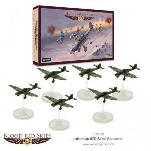 Warlord Games Blood Red Skies  Blood Red Skies Blood Red Skies: Ju 87D Stuka Squadron - 772211001 - 5060572502710