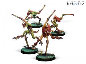 Corvus Belli Infinity  Combined Army The Hungries, Gakis and Pretas - 280606-0079 - 2806060000794