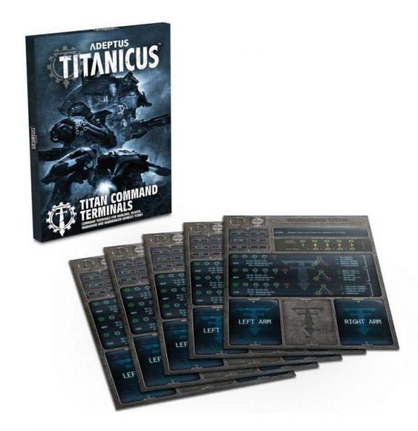 Games Workshop (Direct) Adeptus Titanicus  Adeptus Titanicus Adeptus Titanicus: Titan Command Terminals - 60220399017 - 5011921137367