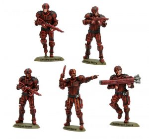 Warlord Games Doctor Who  Doctor Who Doctor Who: Gallifreyan Guards - 602210201 - 5060572501171