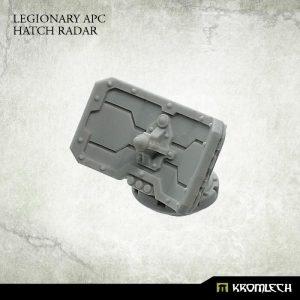 Kromlech   Vehicles & Vehicle Parts Legionary APC Hatch Radar (1) - KRVB067 - 5902216118393