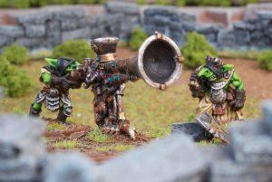 Mantic Kings of War  Orcs Goblin War-Trombone - MGKWO15-1 - 5060208864441