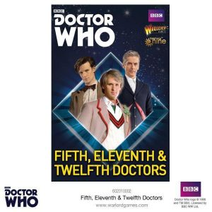 Warlord Games Doctor Who  Doctor Who Fifth, Eleventh & Twelfth Doctors - 602010002 - 5060393707684