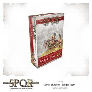 Warlord Games SPQR  SPQR SPQR: Caesar's Legions Scorpio Team - 152211004 - 5060572504820