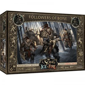 Cool Mini or Not A Song of Ice and Fire  Free Folk A Song of Ice and Fire: Free Folk Followers of Bone - CMNSIF407 - 889696009098
