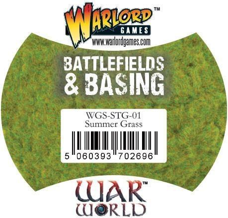 Warlord Games   Sand & Flock Warlord Scenics: Summer Grass - WGS-STG-01 - 5060393702696