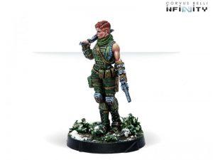 Corvus Belli Infinity  Ariadna Ariadna Intel Spec-Ops (Heavy Pistol, Sniper) - 281110-0814 - 2811100008142