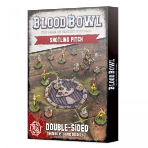 Games Workshop Blood Bowl  Blood Bowl Blood Bowl: Double-sided Snotling Pitch and Dugout Set - 99220909004 - 5011921133758