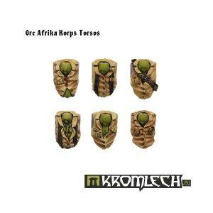 Kromlech   Orc Conversion Parts Orc Afrika Korps Torsos (6) - KRCB069 - 5902216110670