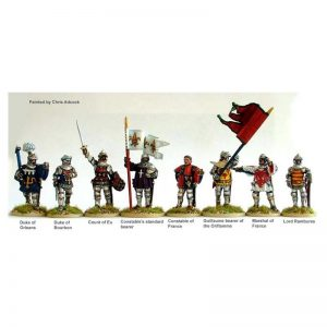 Perry Miniatures   Perry Miniatures French High Command at Agincourt on foot - AO14 -